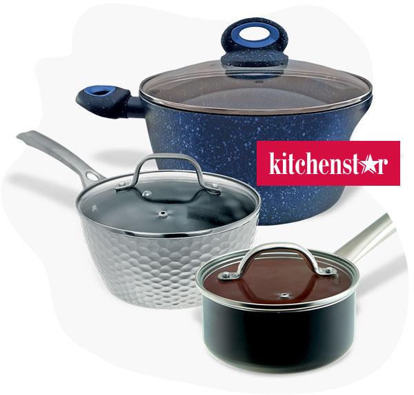Cкидки до 30% на товары KitchenStar